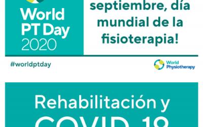 8 Septiembre, Día Mundial de la Fisioterapia.